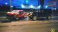 Утром в Выборгском районе произошло страшное ДТП с участ...