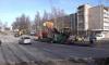 Дорожники ремонтируют проблемные перекрестки Выборга