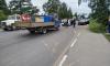 ДТП с запашком: в Янино-1 грузовик с биотуалетами столкнул три иномарки