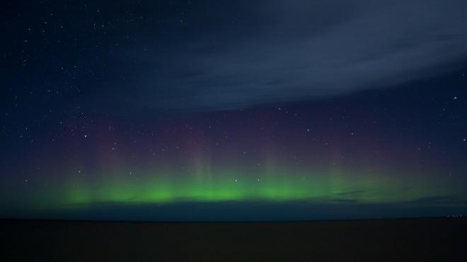 Петербуржцы смогут увидеть северное сияние в ночь на 23 ноября