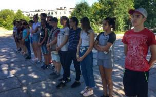 В Первомайском сегодня стартовала работа губернаторского молодежного трудового отряда