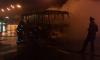 На Ленинском проспекте сгорела маршрутка
