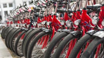 В Петербурге в 2018 году появится новый вид проката велосипедов