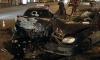 Ночные аварии Петербурга: на проспекте Просвещения «Тойота» врезалась в забор и загорелась
