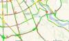 На юге КАД образовалась восьмикилометровая пробка
