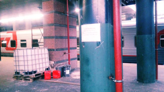 На Ладожском вокзале затягивается процесс реконструкции