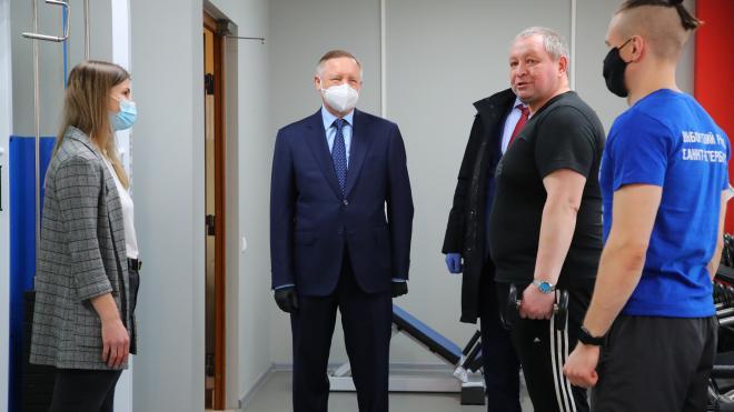 Центр спорта Выборгского района приспособили для маломобильных граждан