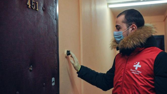 С начала режима самоизоляции в Петербурге волонтеры выполнили более 18 тыс. заявок