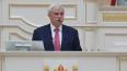 Во время трогательной прощальной речи Полтавченко ...