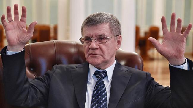 Генпрокурор РФ заработал в прошлом году 11,7 млн рублей