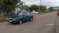 В Хакасии полицейский сбил двух маленьких девочек