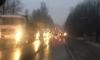 Гигантская пробка собралась на Колтушском шоссе около Янино