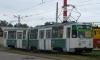 «Мерседес» врезался в трамвай на Петергофском шоссе, двое погибли