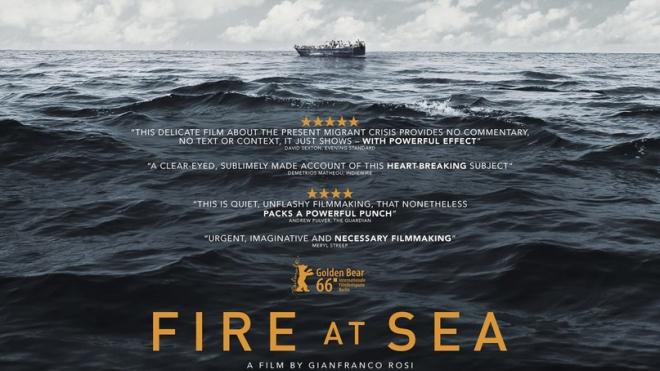 Море в огне