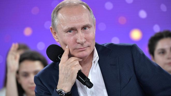 Путин ответил ребенку на вопрос о коррупции
