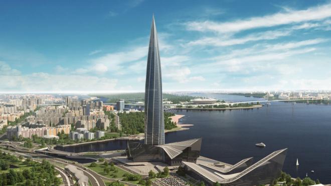 """Строительство эстакад у """"Лахта Центра"""" начнется в следующем году"""