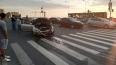 Страшное ДТП на мосту Кадырова: белая иномарка выскочила ...