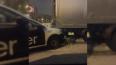 Таксист врезался в грузовик на выезде с Улицы Турку