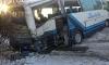 """Туристический автобус влетел в фуру на обледеневшей трассе """"Скандинавия"""": есть пострадавшие"""