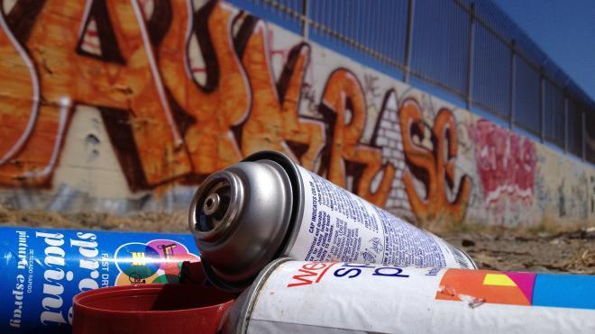 На улицах Петербурга могут установить конструкции для творчества граффитистов