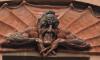 Бомж Василий взял на себя ответственность за уничтожение барельефа Мефистофеля