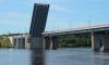 Движение на Мурманском шоссе остановится из-за разводки Ладожского моста