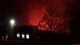 Пожар на Василеостровской ТЭЦ тушат 154 спасателя
