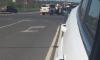 ДТП с двумя иномарками в Кудрово стало причиной пробки