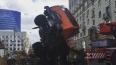 На Кутузовском проспекте в Москве упавший автокран ...