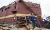 Петербуржцев напугал дым над строящейся плавучей атомной станцией