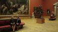 В хранилище Русского музея талой водой залило картину ...