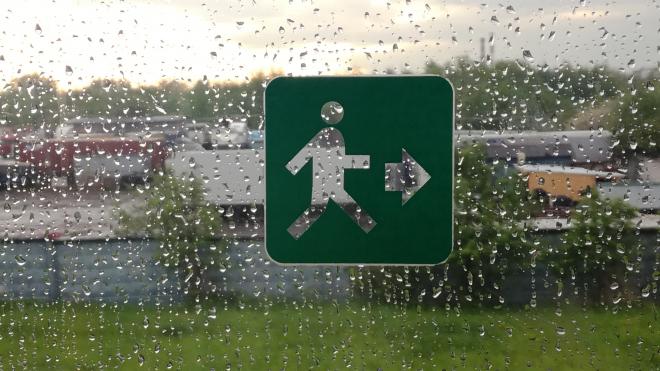 В среду 26 сентября в Петербурге прольются сильные дожди