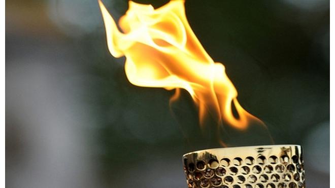 В Москву доставили Олимпийский огонь