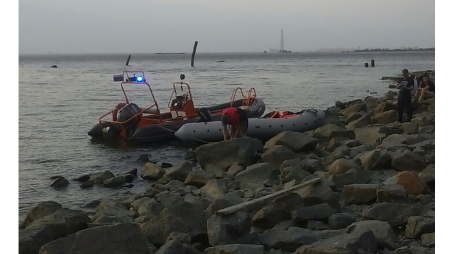 На Финском заливе утонул человек