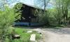 Два человека сгорели в пожаре жилого барака под Гатчиной