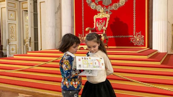 Киркоров сводил детей в Эрмитаж и пообщался с Ахиллом