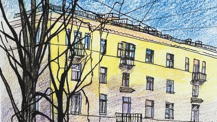 В Петербурге появилась серия картин, посвященных Красногвардейскому району