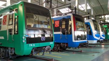 К 2026 году в Петербурге появятся 800 новых вагонов ...