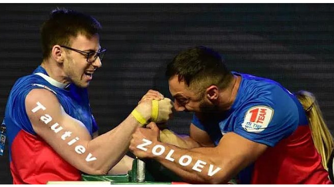 Петербургский рукоборец Хаджимурат Золоев стал 14-ти кратным чемпион мира по армрестлингу