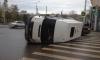В Уфе перевернулся автобус, который вез подростков в больницу