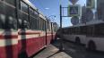 Автобус врезался в трамвай на улице Авиаконструкторов