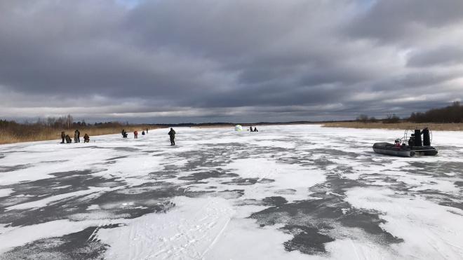 """Инспекторы заповедника """"Нижне - Свирский"""" борются с любителями зимней рыбалки"""