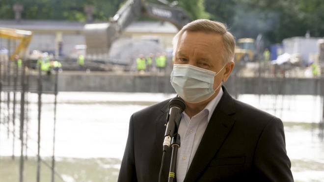 Губернатор Петербурга выразил соболезнования родным экс-президента РАН
