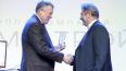 Путин наградил медалью петербургского миллиардера ...
