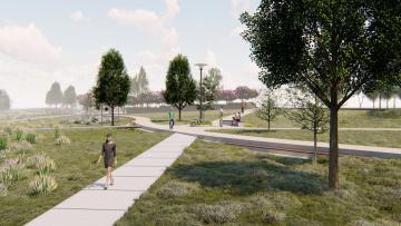 В этом году завершат проектирование сквера на Шуваловском проспекте
