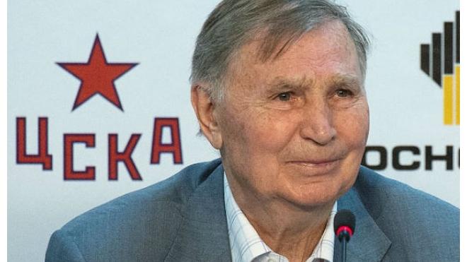 Знаменитый хоккейный тренер Виктор Тихонов попал в больницу