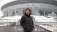 "Чемпион мира Кака посетил стадион ""Санкт-Петербург ..."
