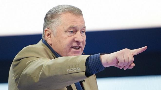 Жириновский рекомендовал Ломакина на пост координатора петербургского ЛДПР