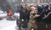 Радикалы напугали Порошенко виселицей и горящими покрышками в центре Киева