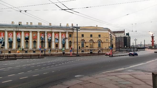 В Петербурге в День снятия блокады зажгли Ростральные колонны